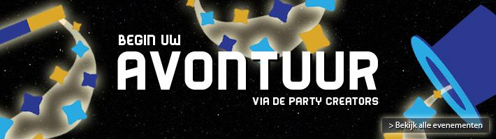 De evenementen van de Party Creators